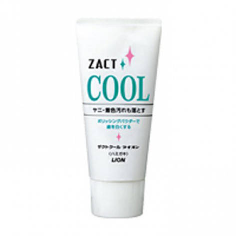 Зубная паста Lion Zact Cool с освежающим и отбеливающим эффектом для курящих 130 г (76668), фото 2