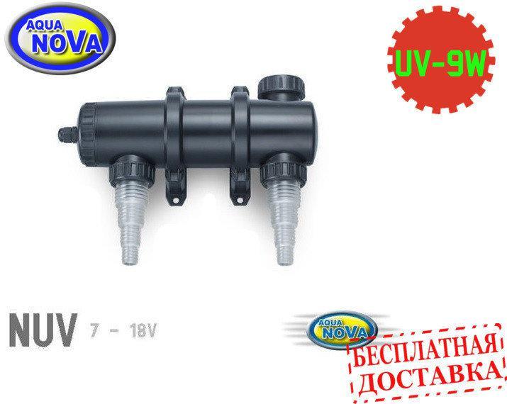 УФ - стерилизатор для пруда AquaNova NUV-09 UV