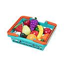 Игровой набор для двоих - ОВОЩИ-ФРУКТЫ НА ЛИПУЧКАХ (в корзинке, 37 предметов), фото 2