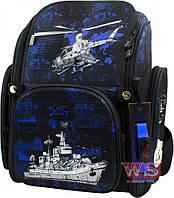 Школьный ортопедический рюкзак DeLune для мальчика вертолеты