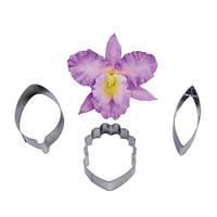 Набор вырубок Орхидея 3 шт.