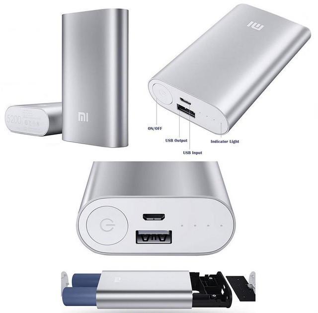 Power Bank Xiaomi Mi 5200mAh Універсальна батарея Павербанк