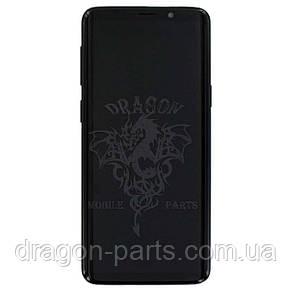 Дисплей Samsung G960 Galaxy S9 с сенсором Черный Black оригинал , GH97-21696A, фото 2