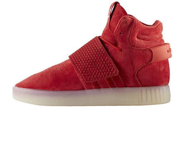 Мужские кроссовки Adidas Tubular red
