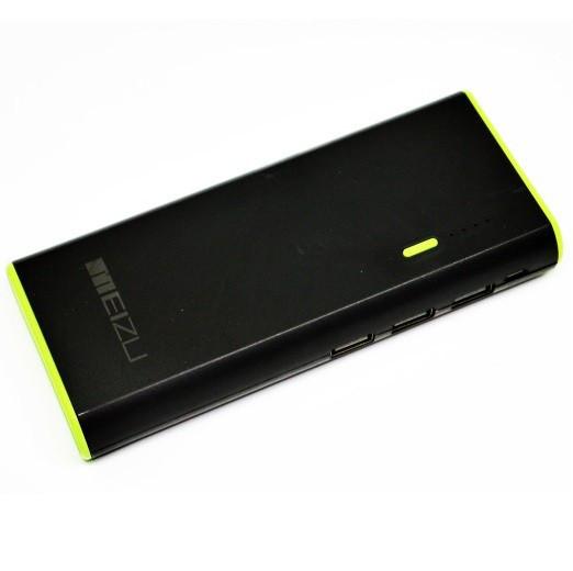Внешний аккумулятор с фонариком Meizu Power Bank 30000 mAh | 3 USB Павербанк