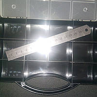 Коробка органайзер с ручкой кассетница для мелочей, бисера, рыбалки
