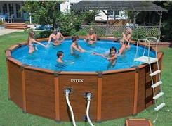 Каркасный бассейн с песочным фильтром 478x124см Intex 54928