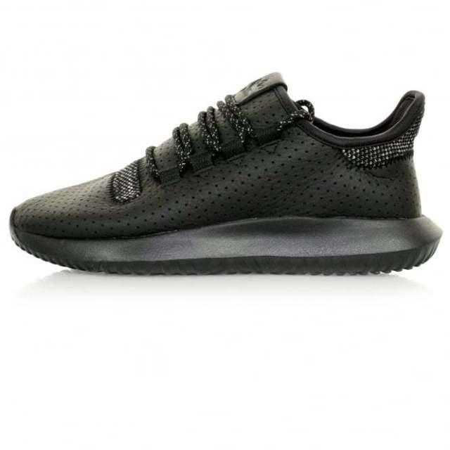 Мужские кроссовки adidas Originals Tubular Shadow | Black кожа