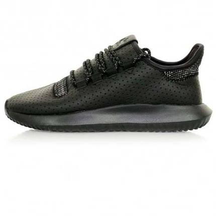 Мужские кроссовки adidas Originals Tubular Shadow | Black кожа, фото 2