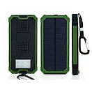 Power bank Solar 40000 с солнечной батареей.Портативное зарядное устройство Павербанк LED, фото 2