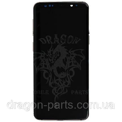 Дисплей Samsung G960 Galaxy S9 с сенсором Золотой Sunrise Gold оригинал, GH97-21696E, фото 2
