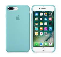 Копия Чехол накладка на iPhone 7 Plus / 8 plus Silicone Case бирюзовый