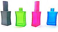 Флакон для парфюмерии цветной Дали матовый 30 мл комплектация металлический спрей розовый