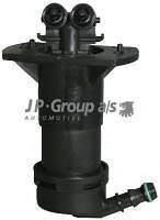 Распылитель воды для чистки, система очистки фар JP GROUP 1198750380 на AUDI A6 седан (4F2, C6)