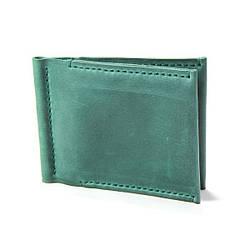 """Зажим для денег """"Doublin"""". Зелёный цвет"""
