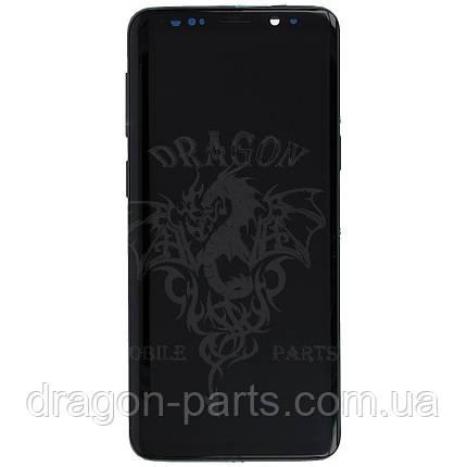 Дисплей Samsung G960 Galaxy S9 с сенсором Серый Titanium Gray оригинал , GH97-21696C, фото 2