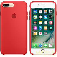 Чехол накладка для iPhone 7 Plus/8 Plus Silicone Case red (красный)