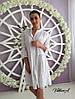Женское платье-туника с узором-вышивкой в расцветках. ВИ-2-0818, фото 2