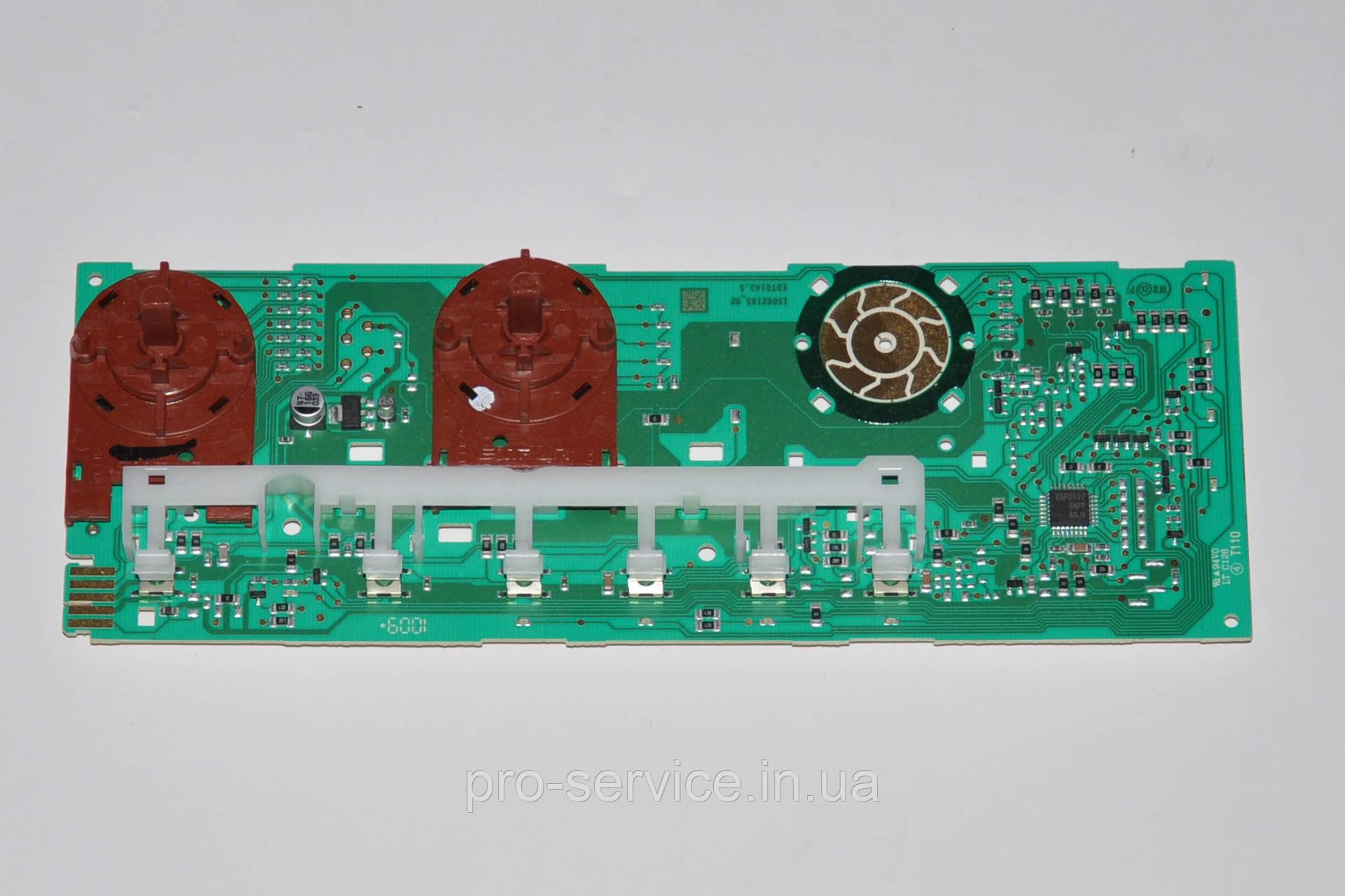 Плата индикации (2 ручки) orig. cod C00254544 для стиральных машин Indesit ARCADIA