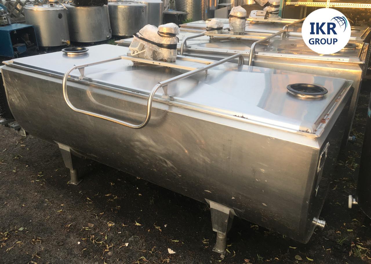 Охладитель молока Б/У Packo 1200 ванна объёмом 1200 литров