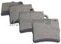 Комплект тормозных колодок, дисковый тормоз JP GROUP 1363700510 на MERCEDES-BENZ C-CLASS седан (W202)