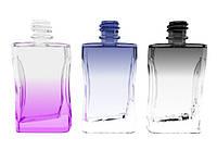 Флакон для парфюмерии цветной Давинчи 35 мл комплектация металлический спрей коричневый