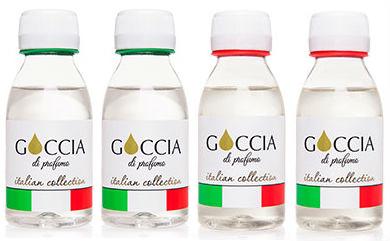 Goccia коллекция ароматов goccia наливная парфюмерия расфасовано по 100 мл