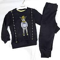 Детскийкостюмдля мальчиков 3-6лет, черный