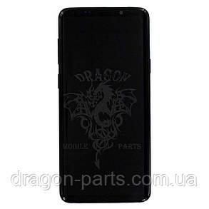 Дисплей Samsung G965 Galaxy S9 Plus с сенсором Черный Black оригинал , GH97-21691A, фото 2