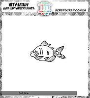 Штамп рыба