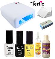 Стартовый набор для покрытия гель-лаком Tertio
