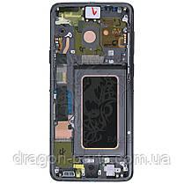 Дисплей Samsung G965 Galaxy S9 Plus з сенсором Сірий Titanium Gray оригінал, GH97-21691C, фото 3