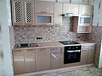 "Кухня ""Медовый перламутровый глянец"" 2,7м"