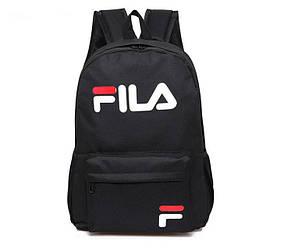 Спортивный рюкзак Fila черного цвета (люкс копия)