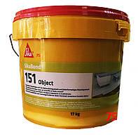 SikaBond-151 Object - однокомпонентный силан-модифицированный клей для паркета, 17 кг