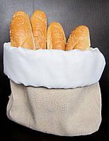 Мешочек для хлеба Atteks текстильная хлебница светлая - 1243