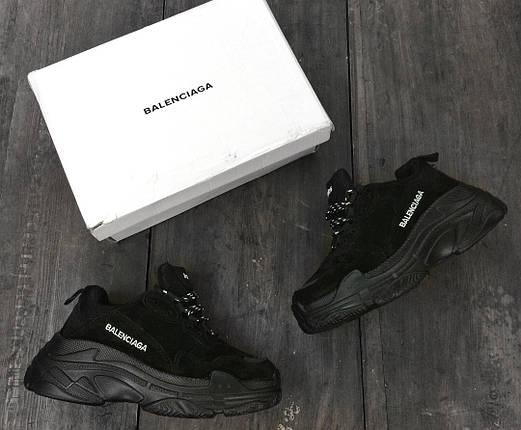 Женские кроссовки Balenciaga Замша, фото 2