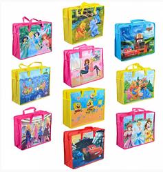 Сумка цветная Мультики Пластиковые сумки на молнии Сумка пластиковая детская