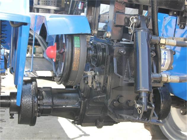 Мототрактор ДТЗ-160.1 с фрезой 120 см 9