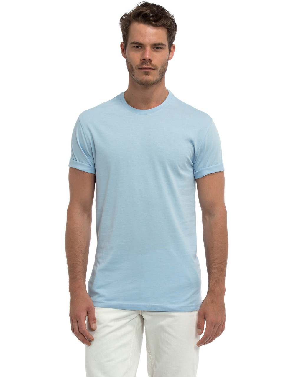 Голубая мужская футболка LC Waikiki / ЛС Вайкики