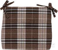 Подушка на кресло INDIGO Шотландия бежевый 48×42×5 см T11014794, фото 1