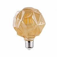 LED лампа Эдисона декоративная [ CRYSTAL  G-95 ]  (4w)