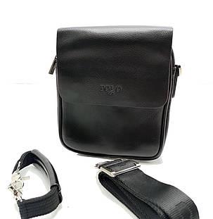 Мужская сумка Polo клапан кожа (B371-1), фото 2