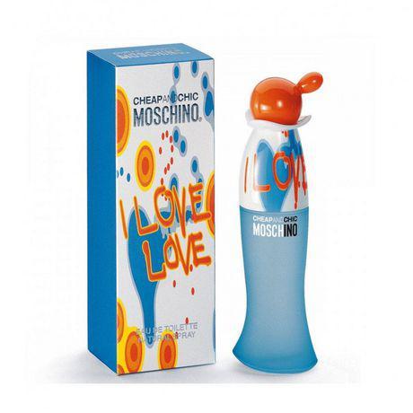 Лицензионная парфюмерия Moschino I Love Love 100ml  реплика