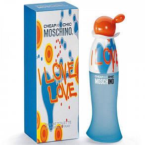Лицензионная парфюмерия Moschino I Love Love 100ml  реплика, фото 2