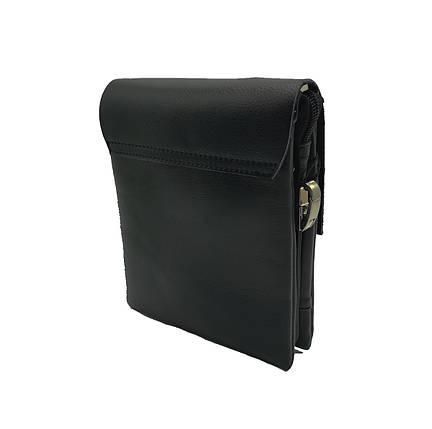 Мужская сумка Polo клапан кожа (B6771-1), фото 2
