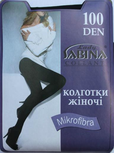 «Lady Sabina» MICROFIBRA 100 Den 5 ANTRACITE