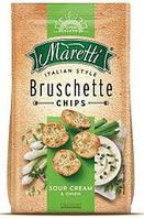 Гренки Bruschette Sour cream & Onion Maretti 70g