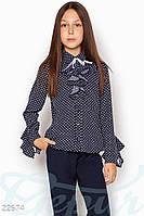 Детская блузка жабо Gepur 22674