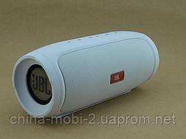 JBL Charge 4 E4 16W копія, портативна колонка з Bluetooth FM MP3, біла, фото 3